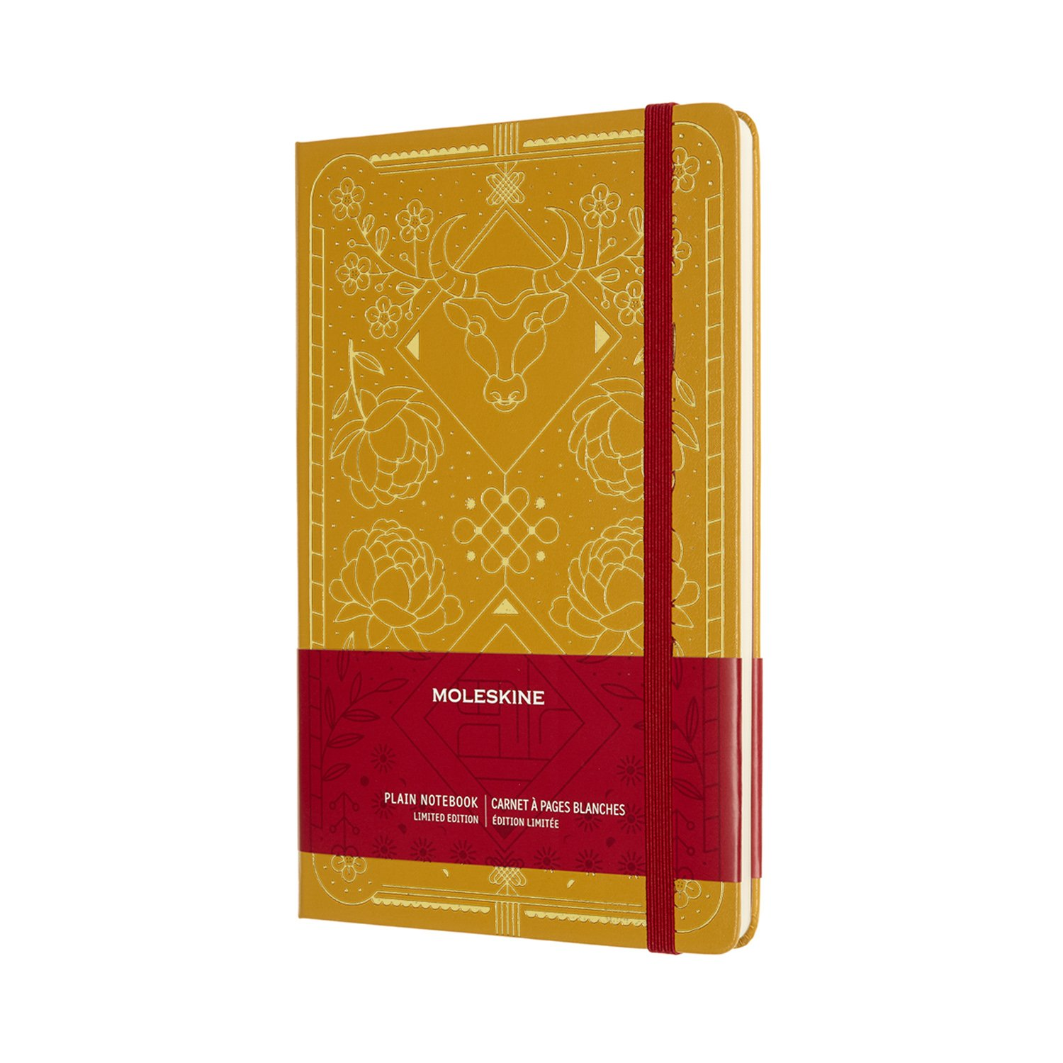 YEAR OF THE OX LIMITED EDITION NOTEBOOK - GOLD