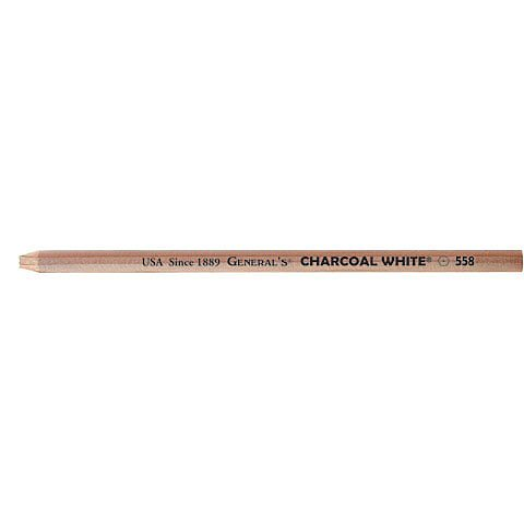 Charcoal Pencil White Water Soluble