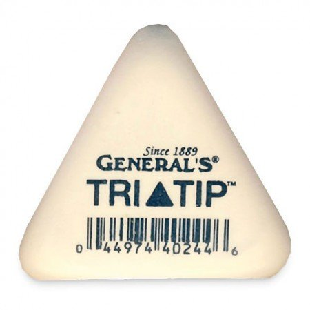 Tri-Tip Erasers Hex (Latex Free)