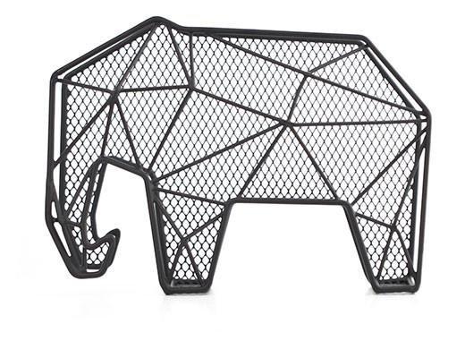 Letter Organizer Elephant + Key Holder