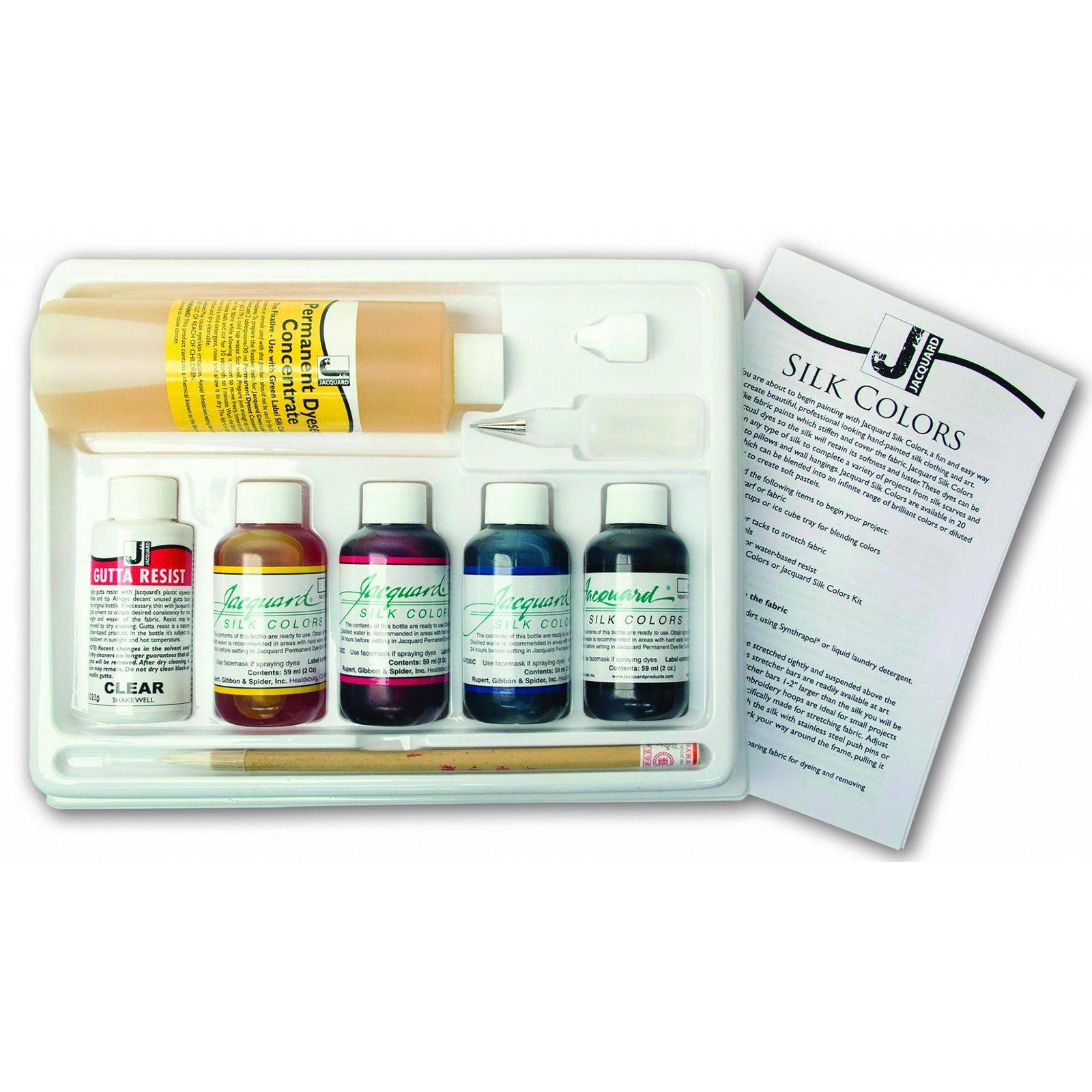 Silk Painting Colors Kit