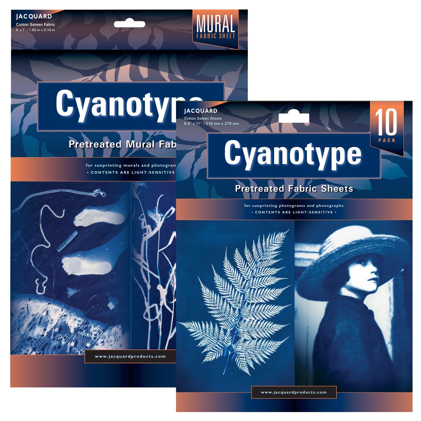 Cyanotype Fabric