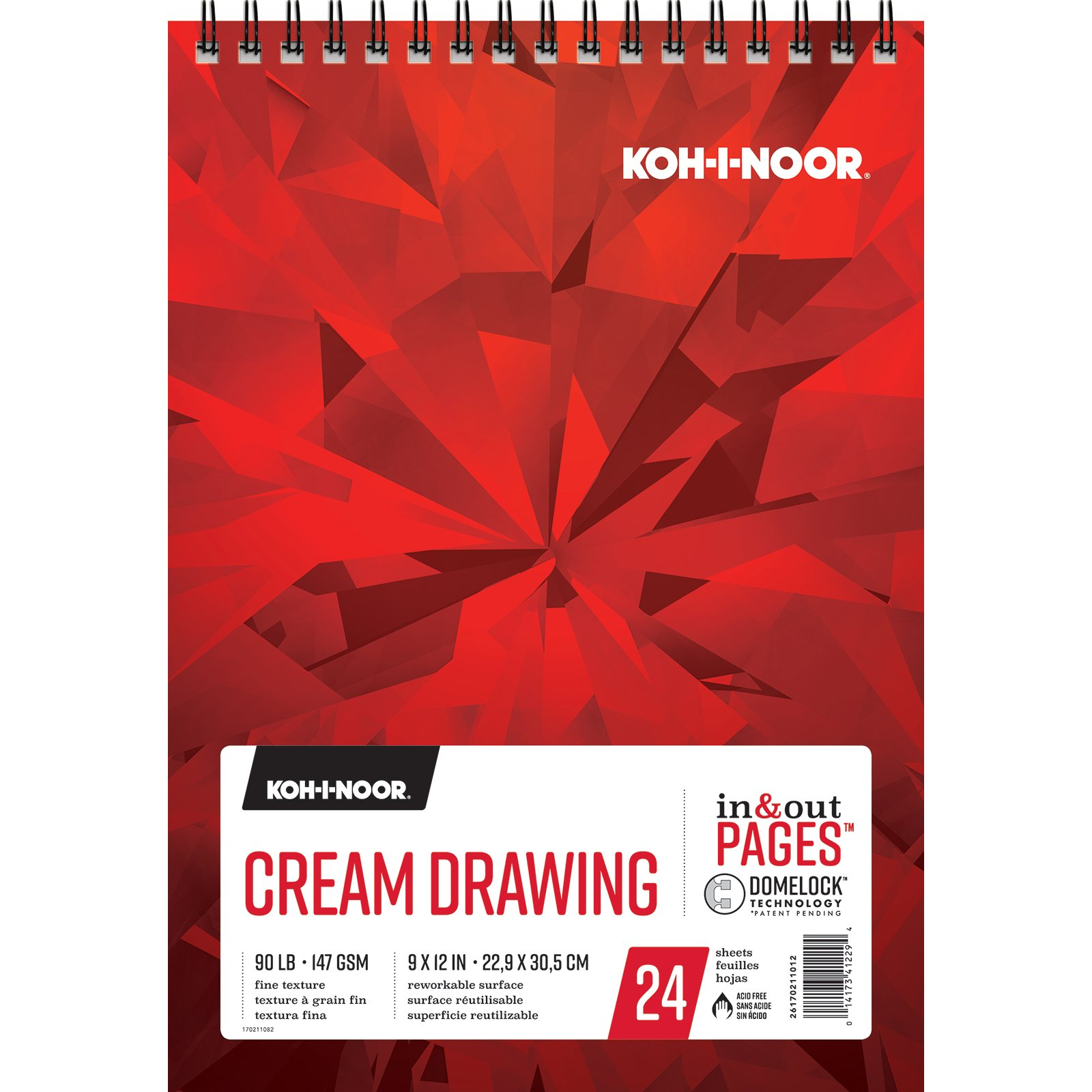 Cream Drawing Pads
