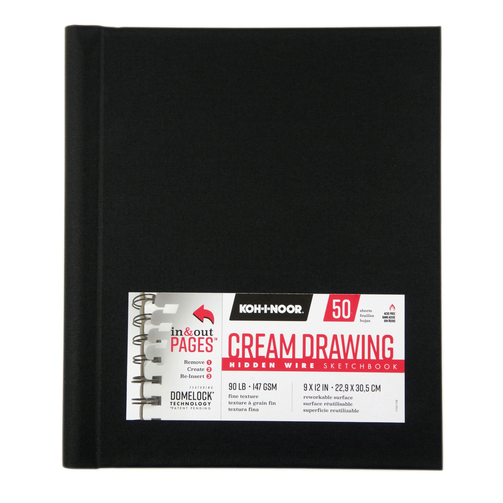 Hidden Wire Cream Drawing Sketchbooks