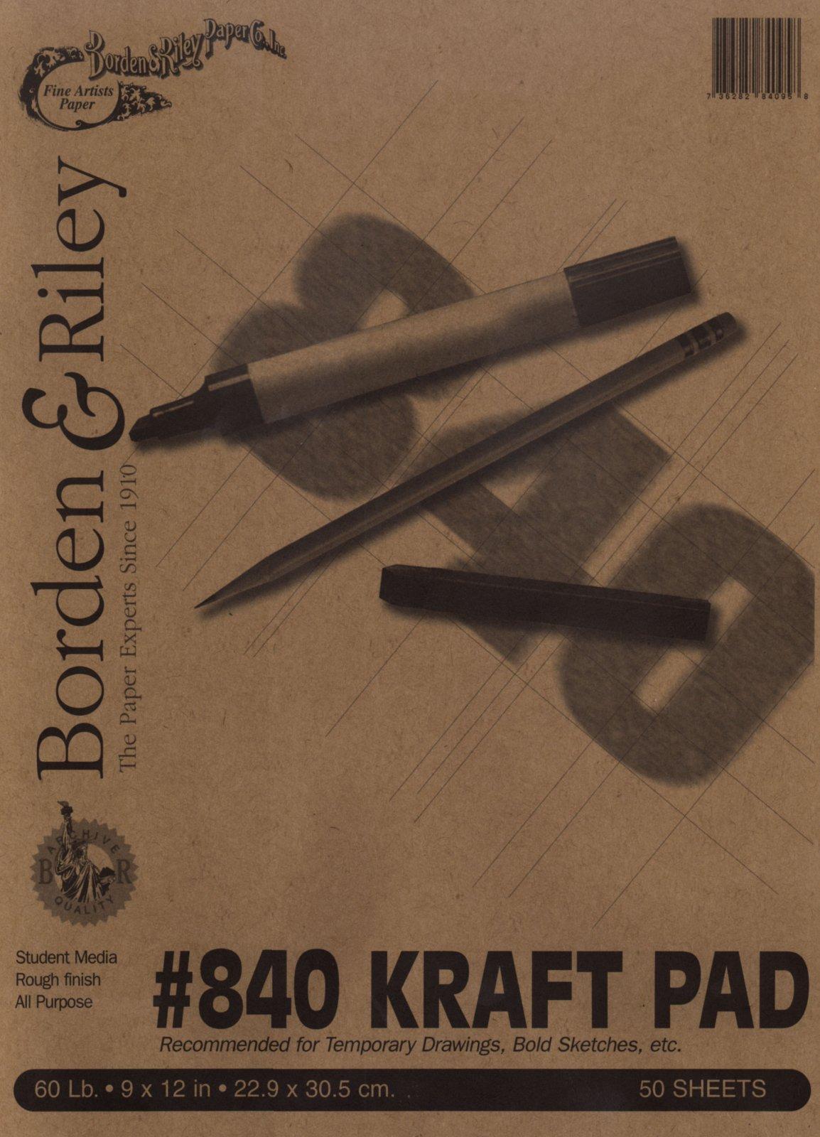 #840 Kraft Paper Pad