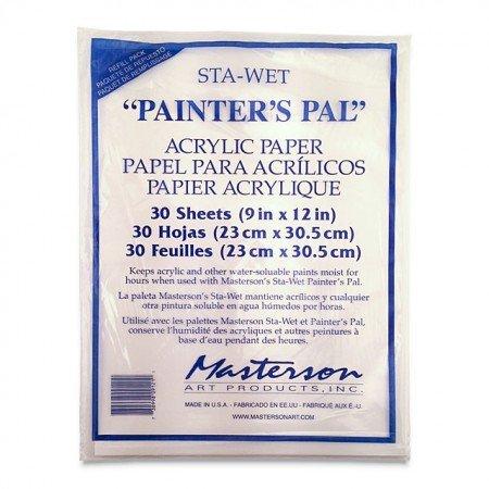 Painter's Pal Acrylic Paper Palette sheets