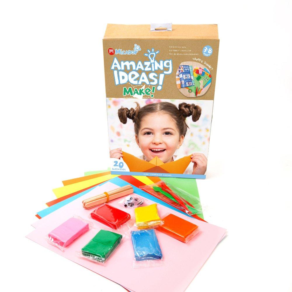 Micador Jr. Amazing Ideas Activity Pack - MAKE