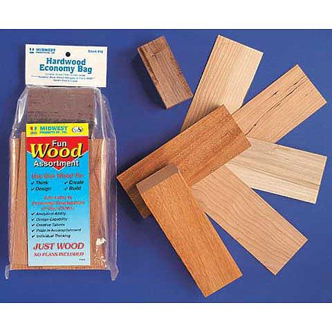 Craft & Hobby Wood Economy Bag