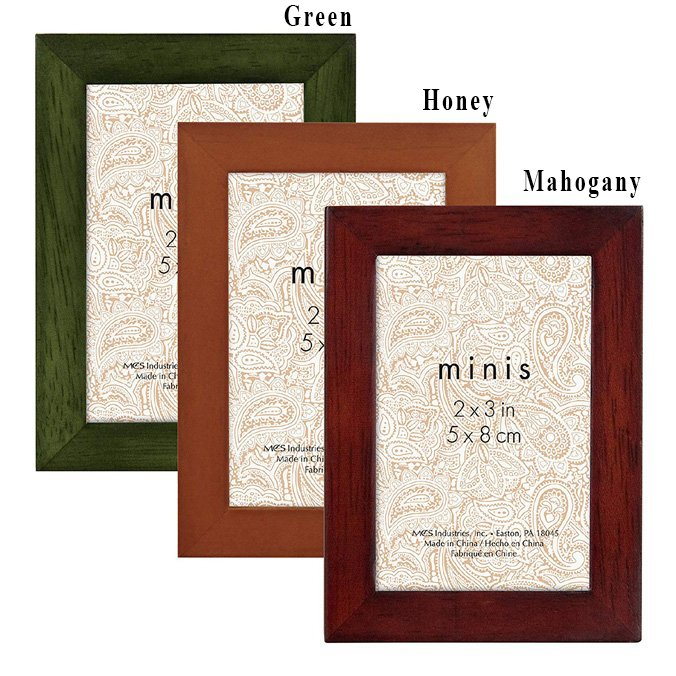 Jewel-Tone Wood Frame