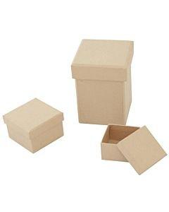 Paper Mache Boxes & Frames
