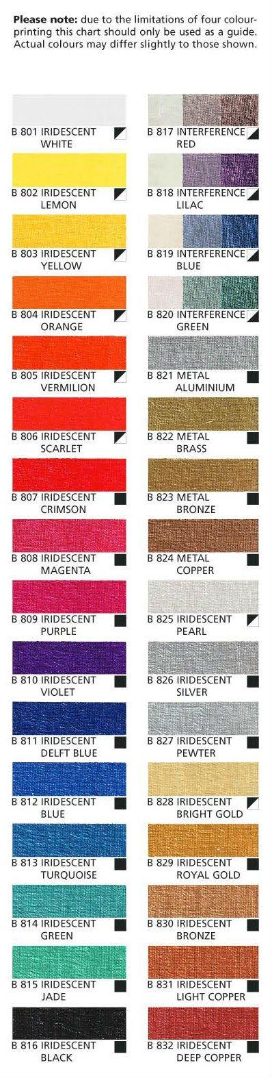 Old Holland 60ML Iridescent Acrylics