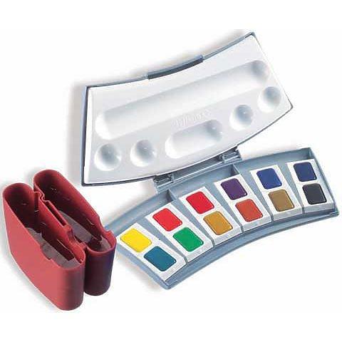 Pelikan Transparent Watercolor Set, 12pc