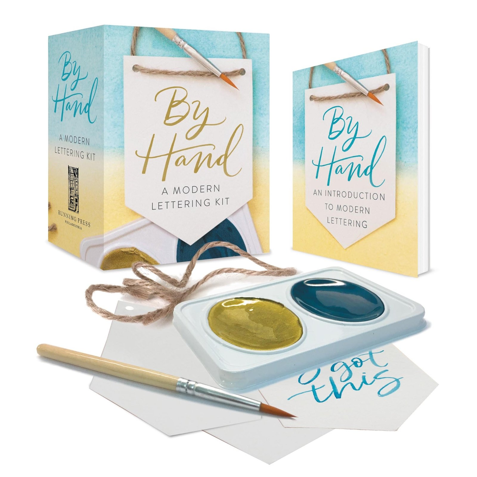 By Hand -Lettering Kit Mini Edition