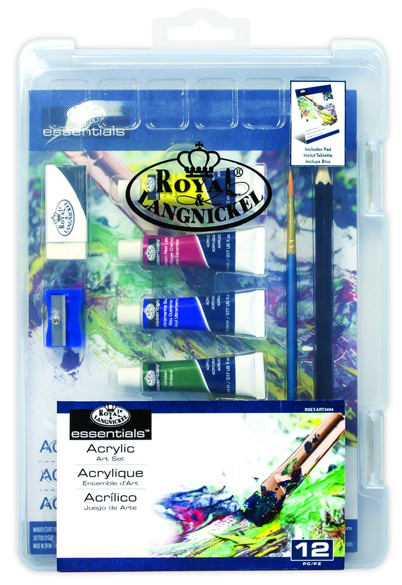 Essentials Mini ClearView Art Sets