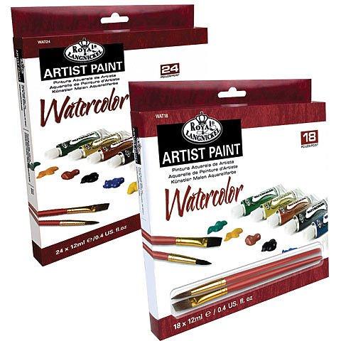 Watercolor Artist Paint Sets