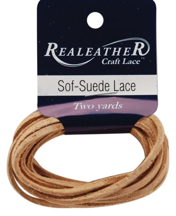 Sof-Suede Lace, 3/32in x 2 yds