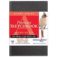 Alpha Series Premium Hard-Cover Sketch Books Hand-Bound