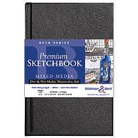 BETA SERIES PREMIUM HARD-COVER SKETCH BOOK, 25 Sheets