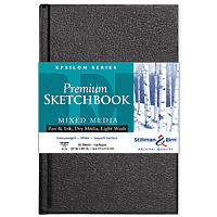 Epsilon Series Premium Hard-Cover Sketch Books Hard-bound