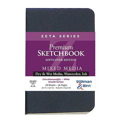 ZETA SERIES SOFT-COVER SKETCH BOOK