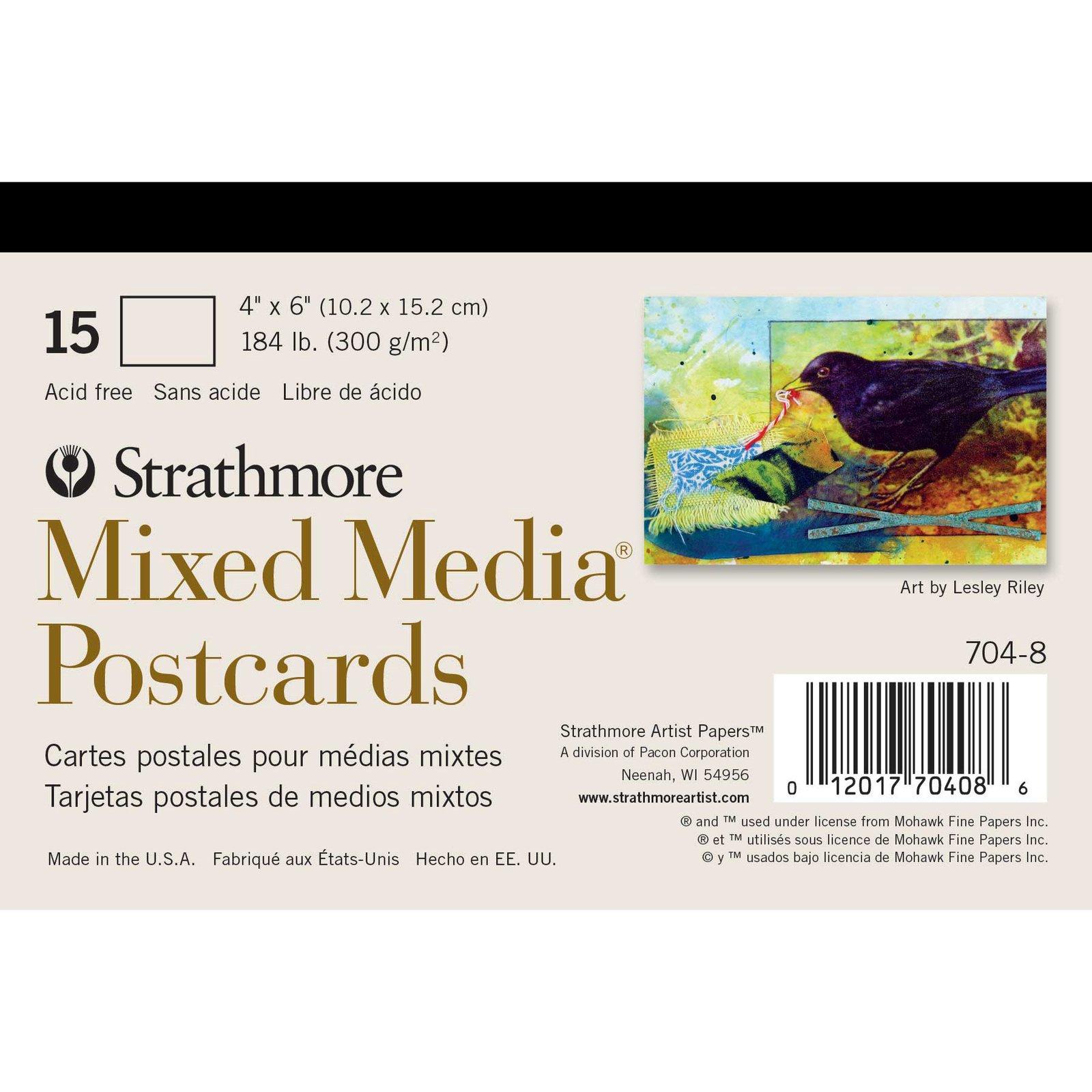 Mixed Media Postcards