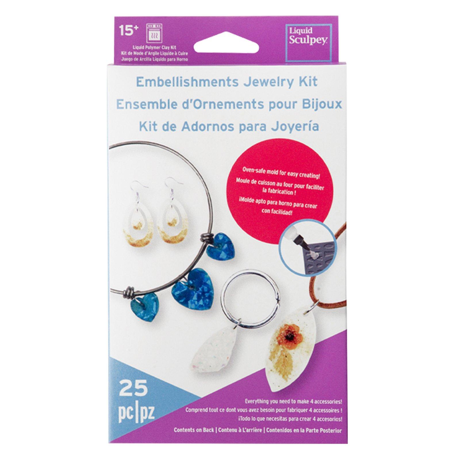 Liquid Sculpey Embellishment Jewelry Kit