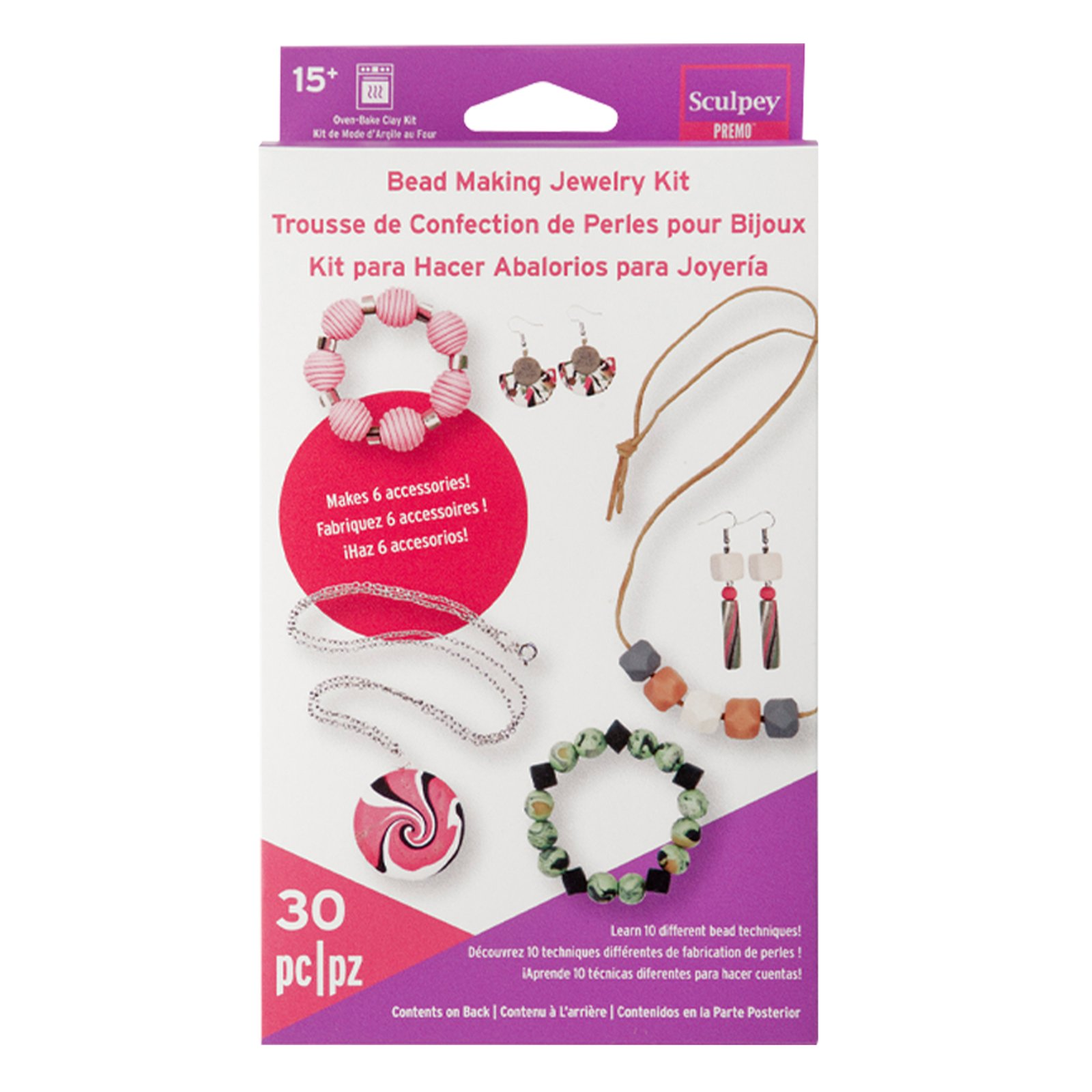 Premo Bead Making Jewelry Kit