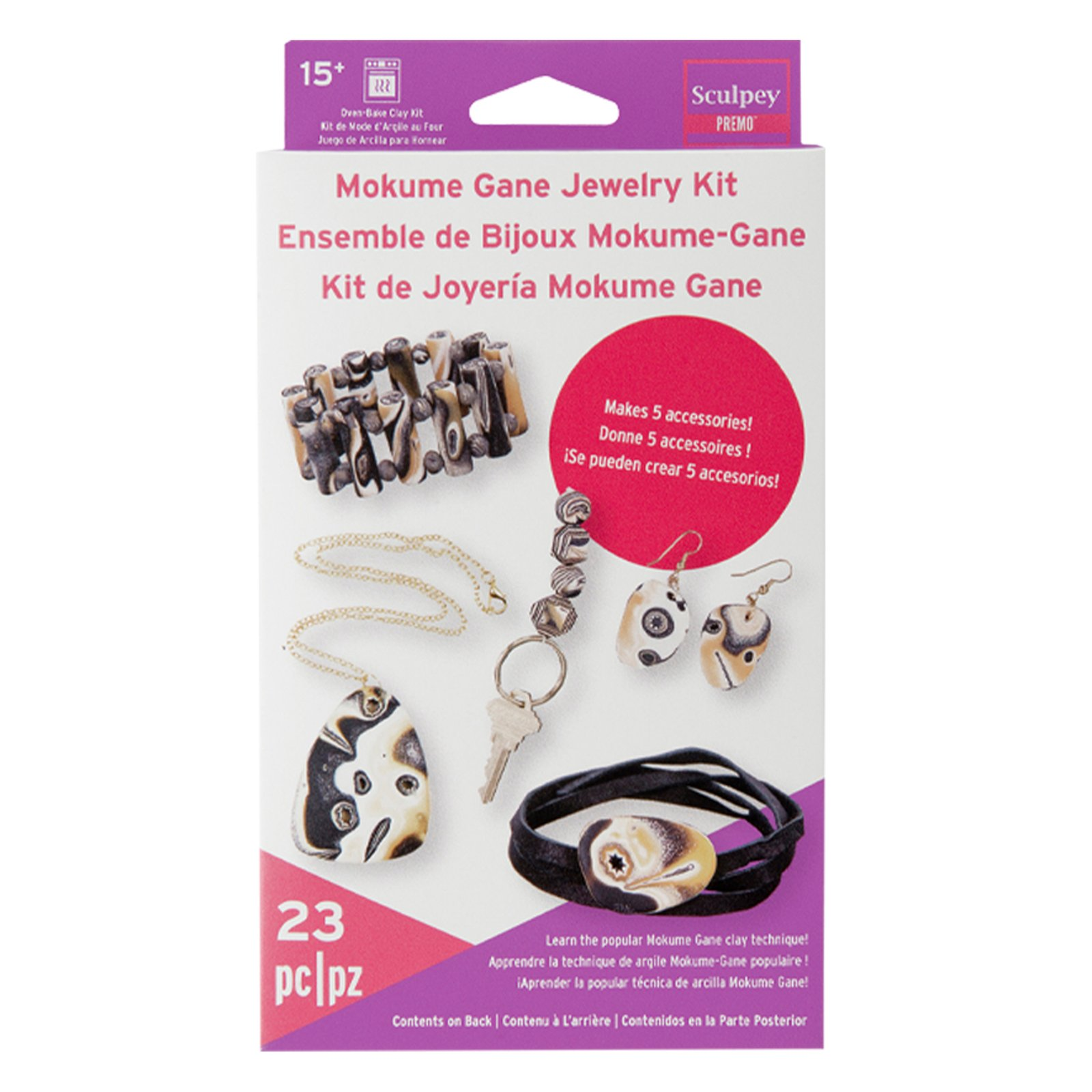 Premo Mokume Jewelry Kit