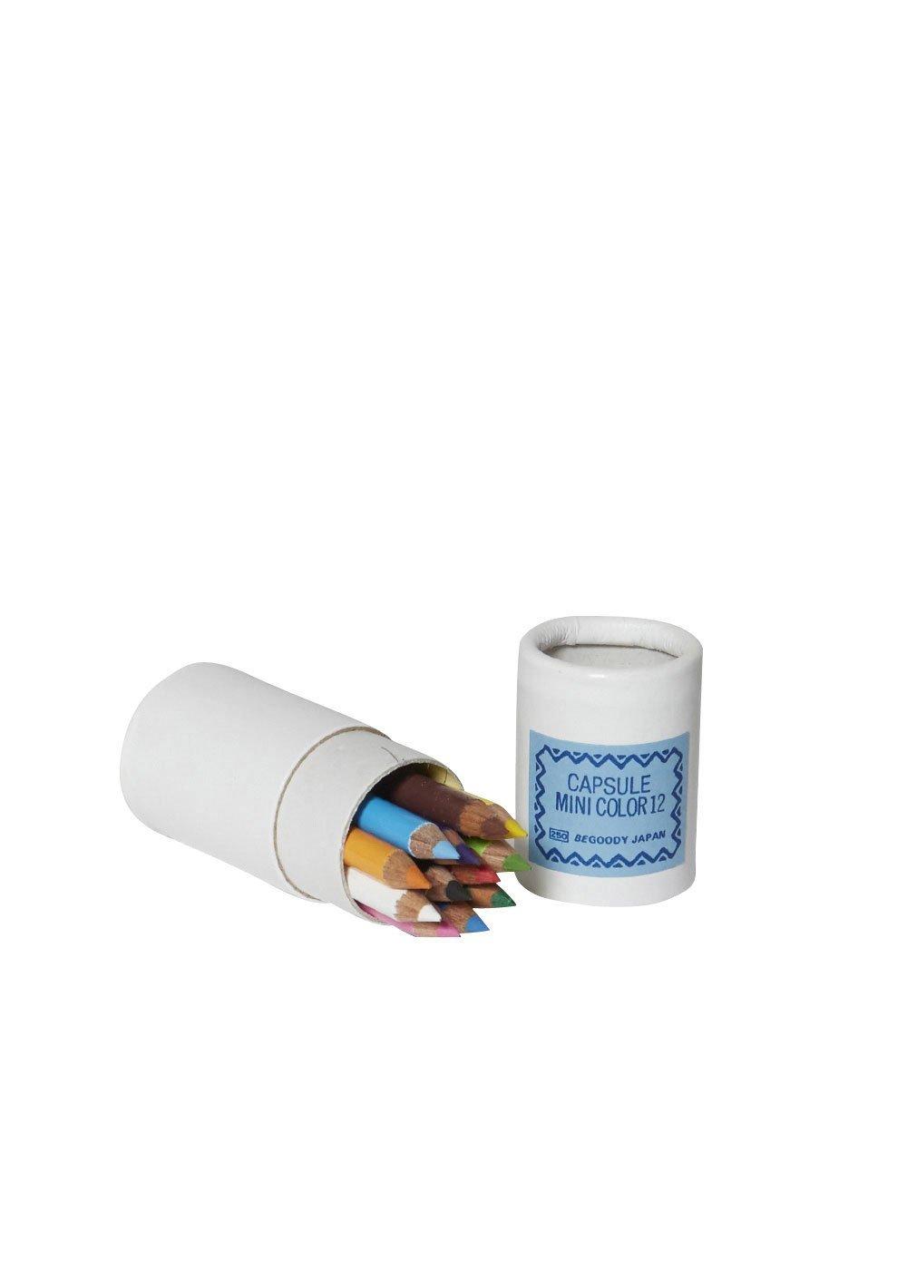 12 Mini Colored Pencils in Tube