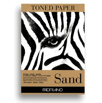 Fabriano Toned Paper Pads 120gsm 50 sheets