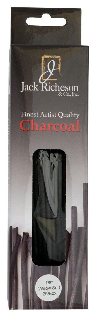 Jack Richeson Soft Willow Charcoal