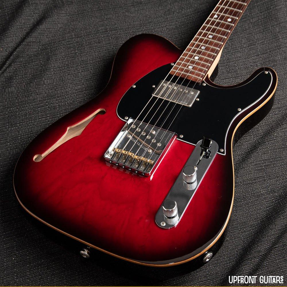 USED G&L ASAT Bluesboy Semi-Hollow Redburst