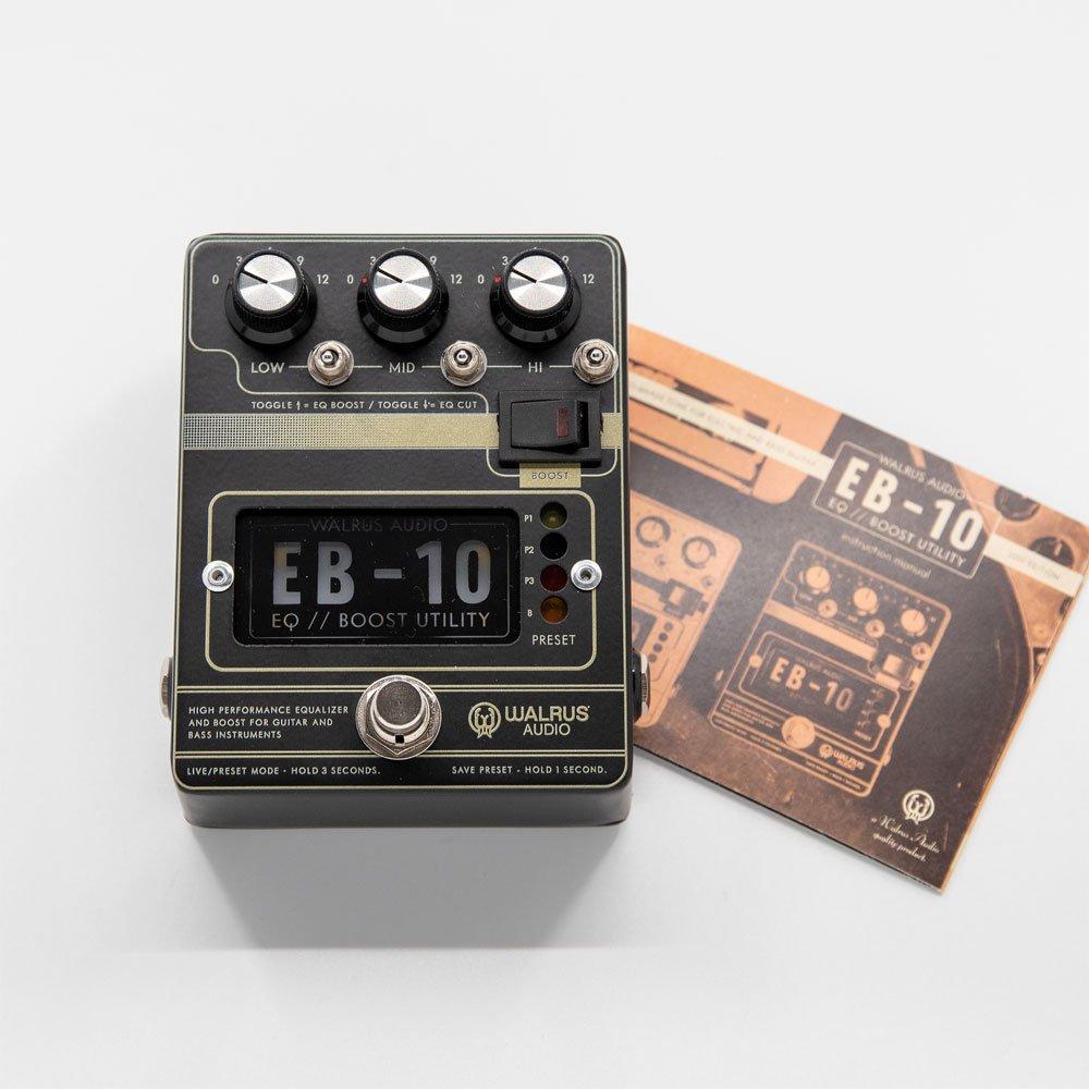 Walrus Audio EB-10 Preamp/EQ/Boost (Black)
