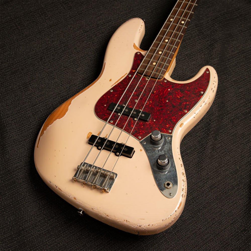 USED Fender Jazz Bass Flea Road Worn Signature