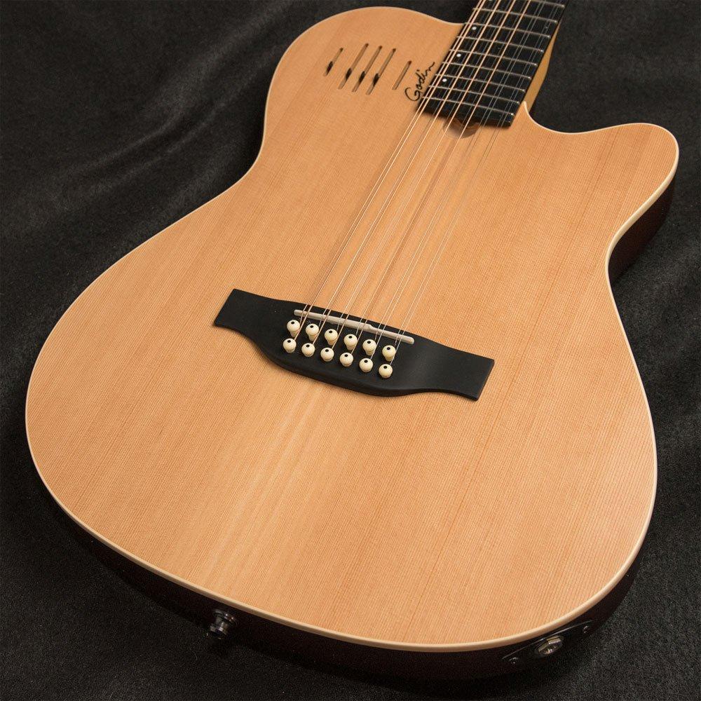 Godin A12 Natural SG Cedar 12-String with Electronics