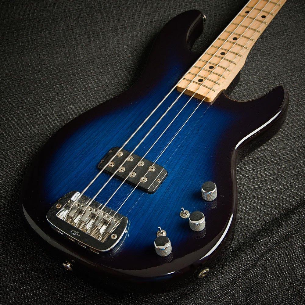USED G&L L-1500 Bass Blue Burst