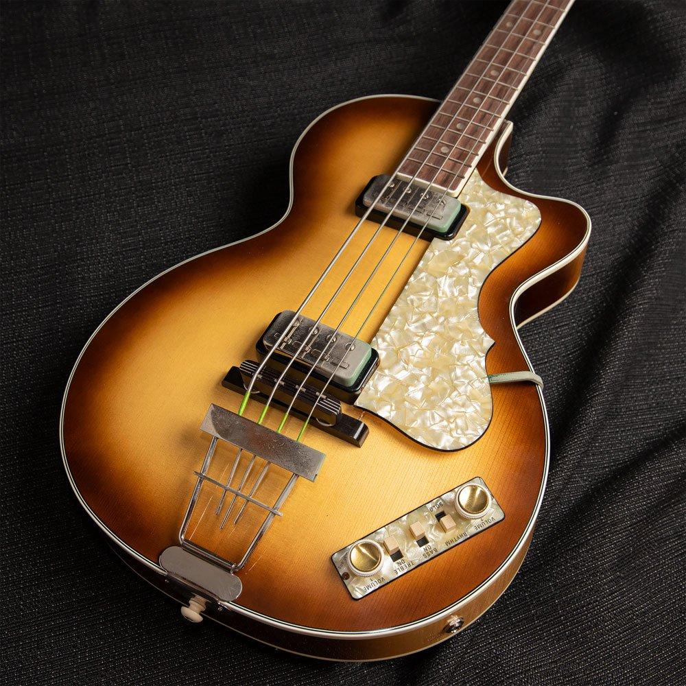 Used Hofner 500/2 Club Bass w/HSC