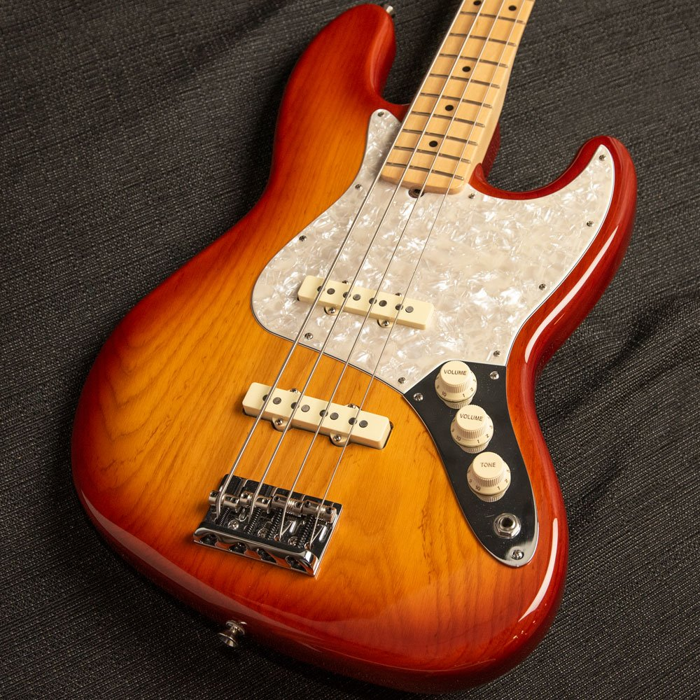 USED Fender Limited Edition American Professional Jazz Bass Sienna Burst
