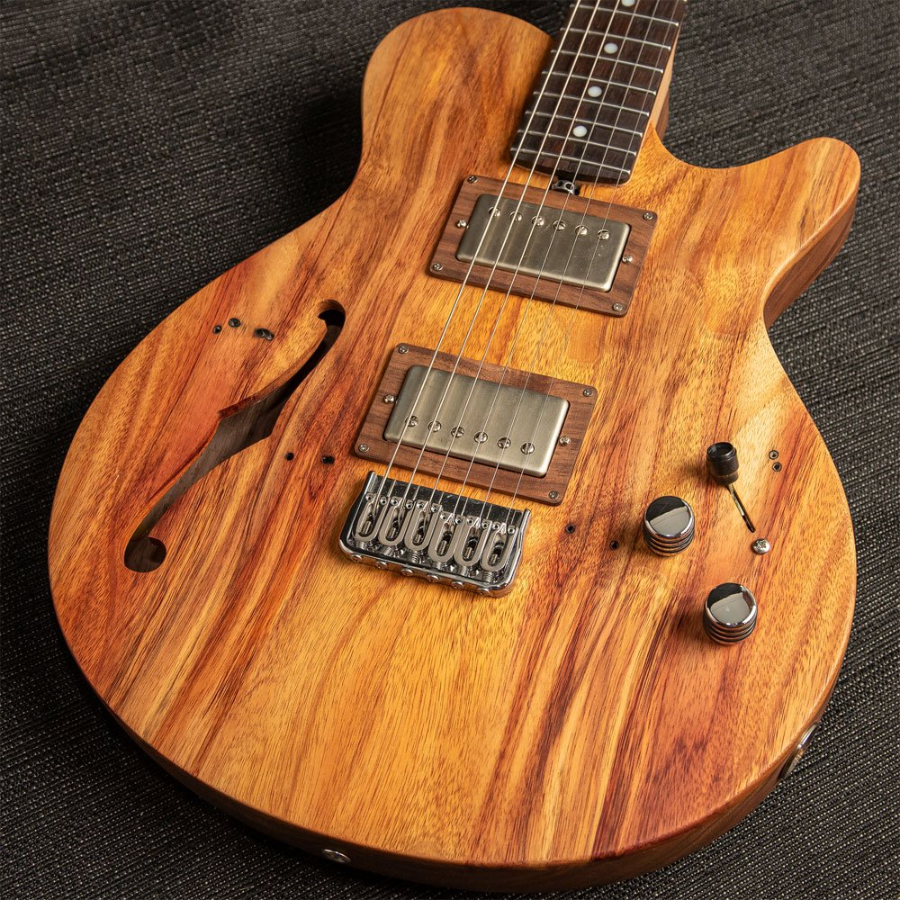 Porter Les Bois Custom Semi Hollow Canary Top