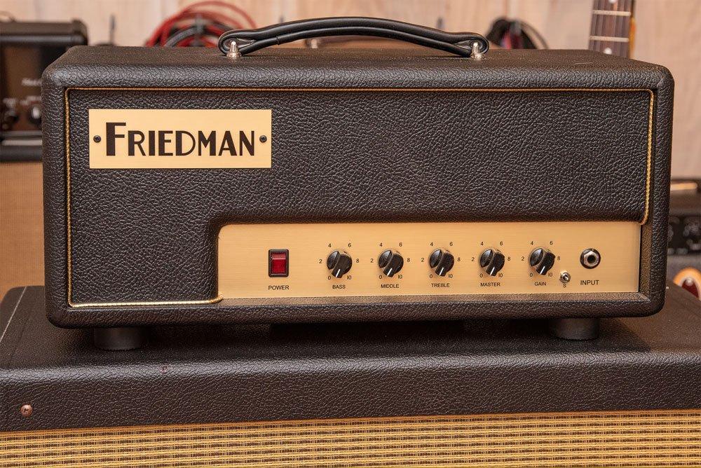 Used Friedman PT-20 Pink Taco 20 Watt Amp Head