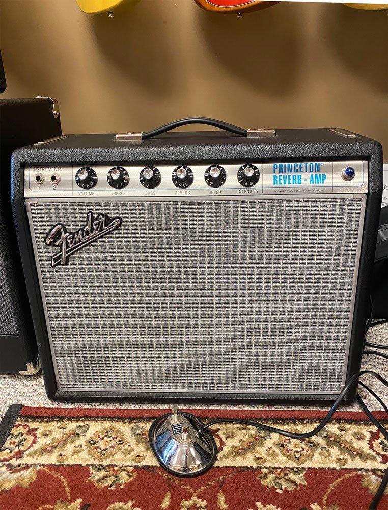USED Fender '68 Princeton 1x12 Combo Amp 2013