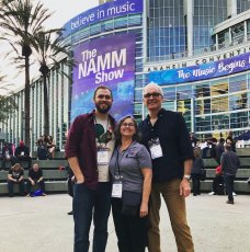 UpFront Guitars Team at Winter NAMM 2019