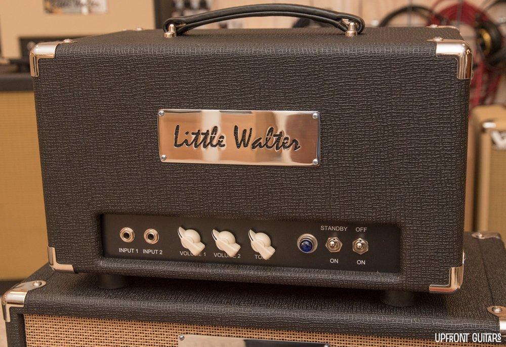 Little Walter Octal 22 Watt Head - Hiwatt Black
