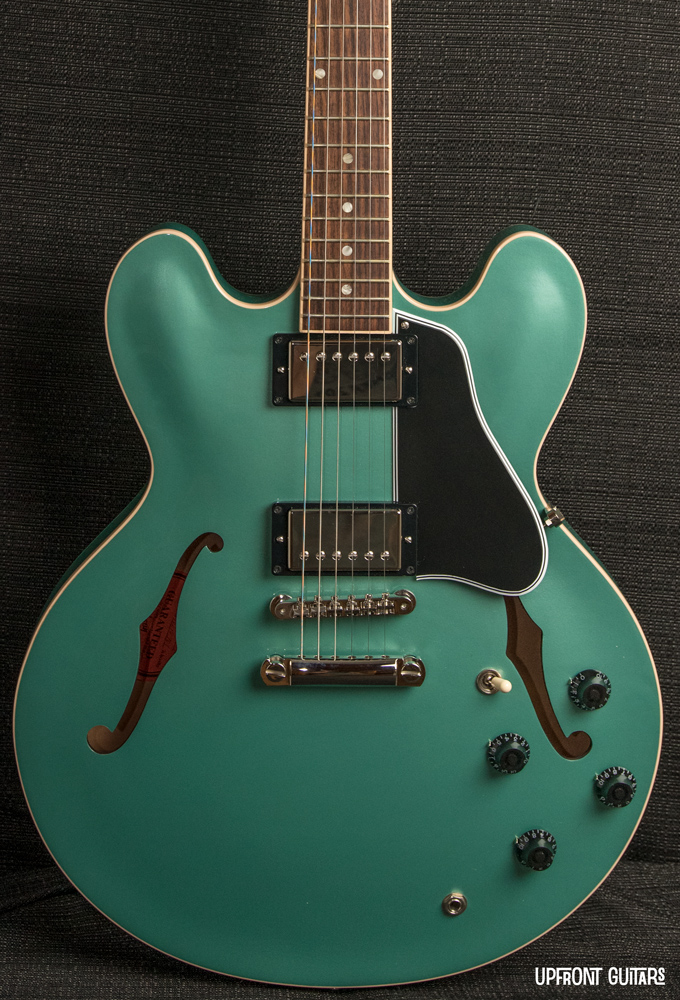Used Gibson ES-335 2010 Memphis Inverness Green *Rare