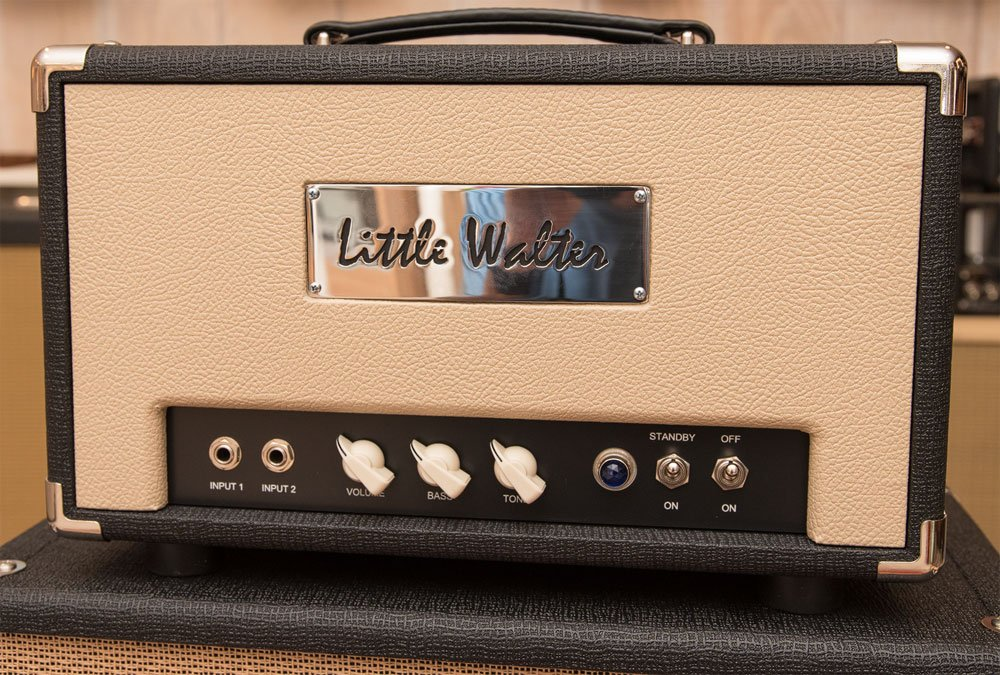 Little Walter 50 Watt Octal Head Black Tan - MINT