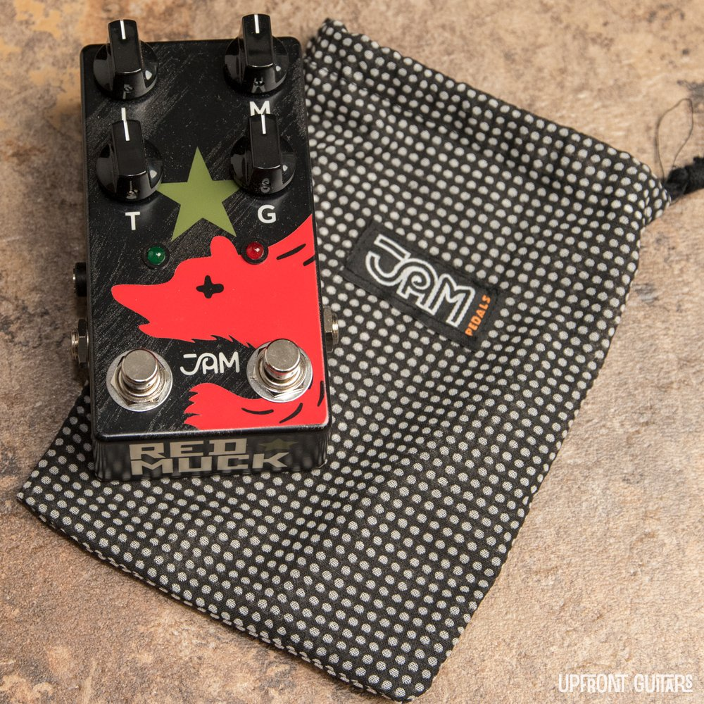 JAM Pedals Red Muck Mk.2 Fuzz/Distortion for Bass