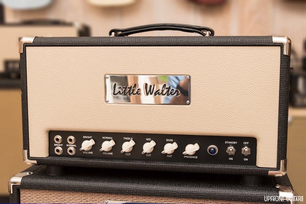 Little Walter 59 50 Watt Head Black/Tan