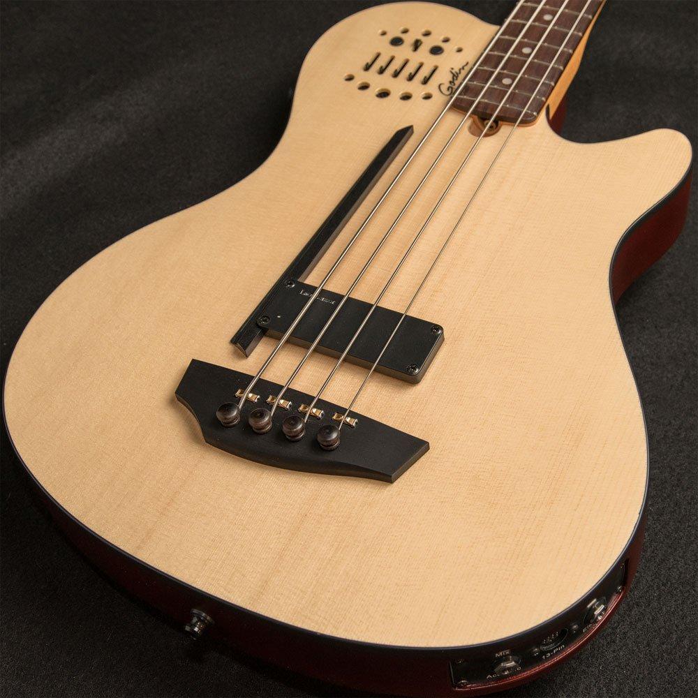 Godin A4 Ultra Natural Fretted Bass SF