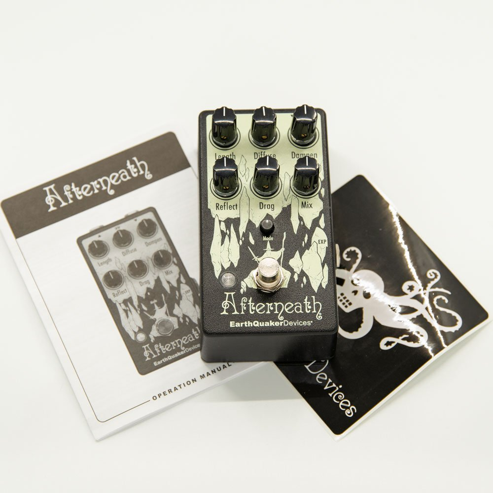 USED Earthquaker Devices Afterneath
