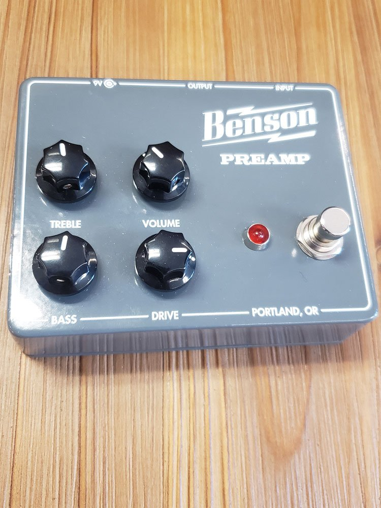 USED Benson Preamp